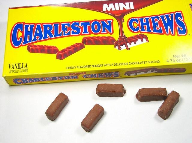 Mini charleston chews