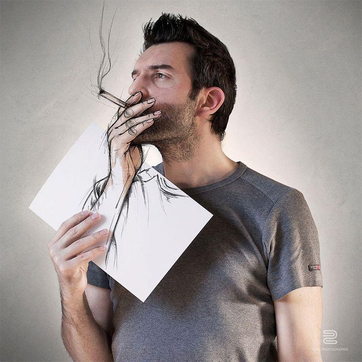 Sebastien Del Grosso, disegni che prendono vita