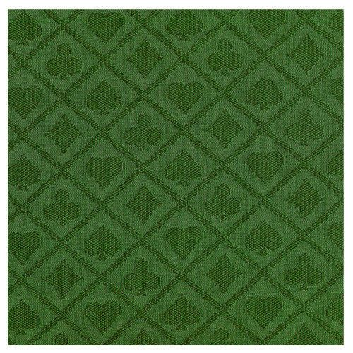108 X 60 INCH FULL SIZE POKER TABLE SUITED SPEED WATERPROOF FELT GREEN COLOR