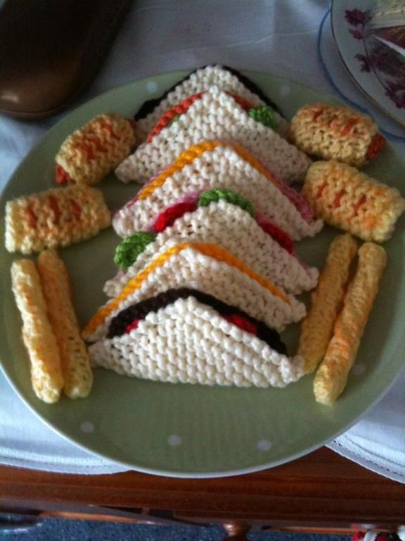 Knitted Food
