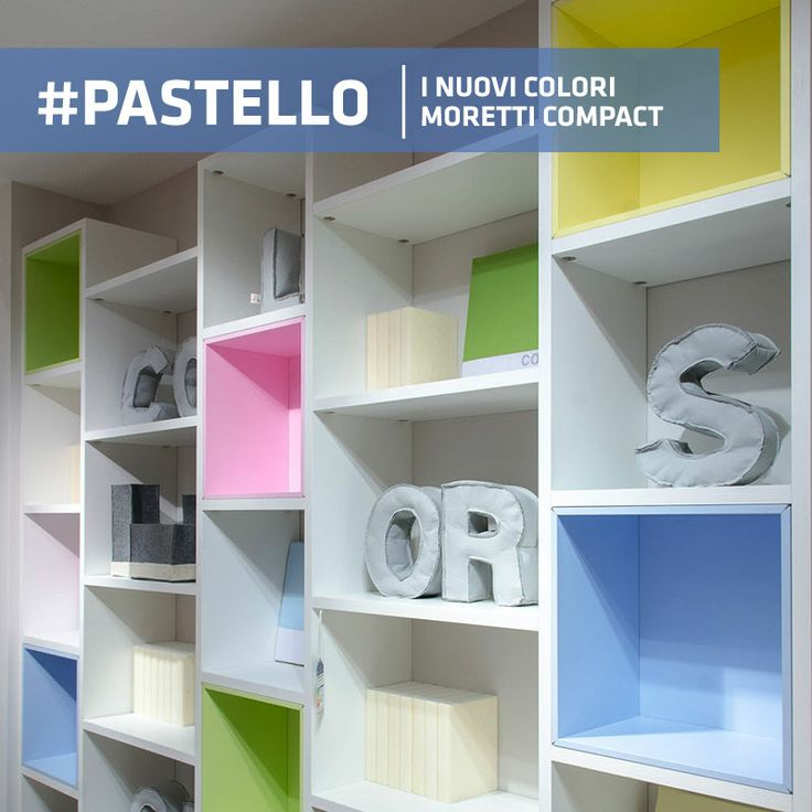 #pastello nuovi colori Moretti Compact