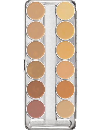 Dermacolor Camouflage Creme Palette 12 Colors - Rio Makeup   - 2