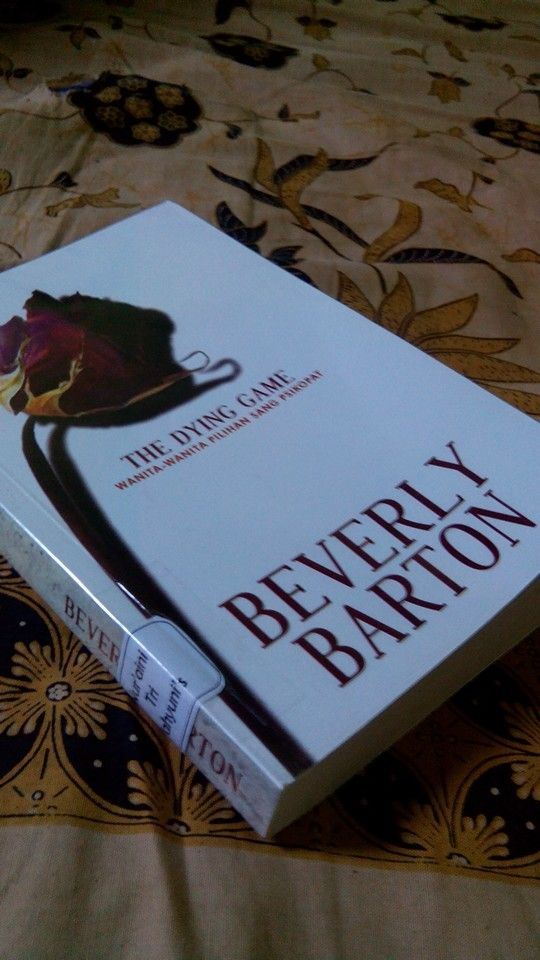 the dying game. Beverly Barton.