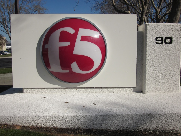 F5 Networks Sign, Kingdom Ridge Capital, LLC, KRC, Geeks on the Road, Silicon Valley