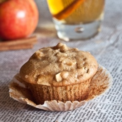 These Apple Cider Muffins taste and smell just like fall!