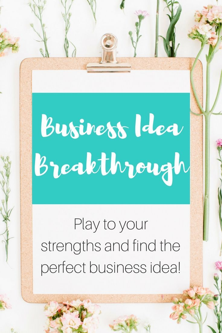 Need a small scale business idea? Grab this free workbook and set yourself up for success!