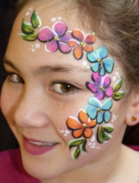 192 best face painting images on Pinterest | Artistic make ...