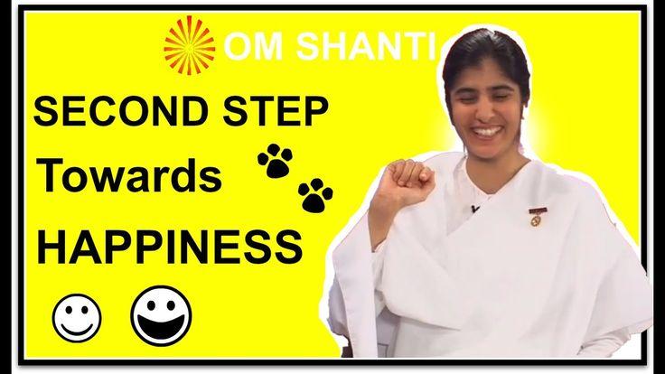 Second step towards Happiness by BK Shivani|Awakening with Bramha kumari...