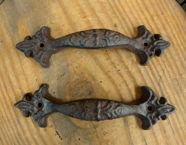 Beautiful Cast Iron Cabinet Hardware