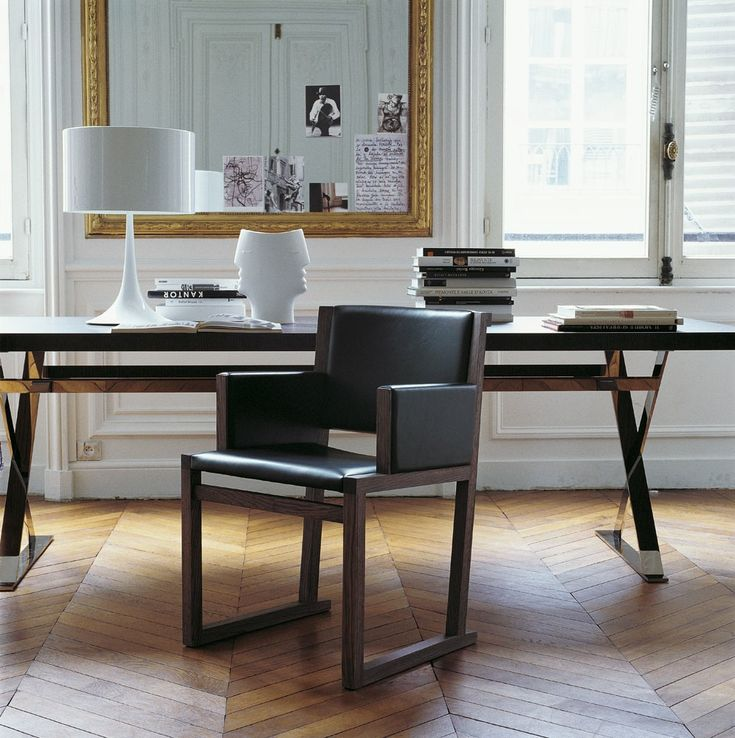 Chairs: MUSA – Collection: Maxalto – Design: Antonio Citterio