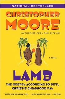 Lamb - Christopher Moore. This is one of the funniest books I have ever read. Like, ugly snorting laugh in public funny.