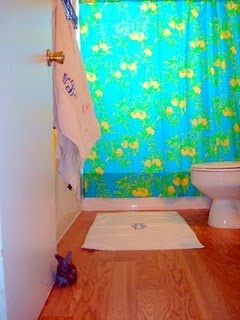 @Lilly Oh Pulitzer Shower Curtain
