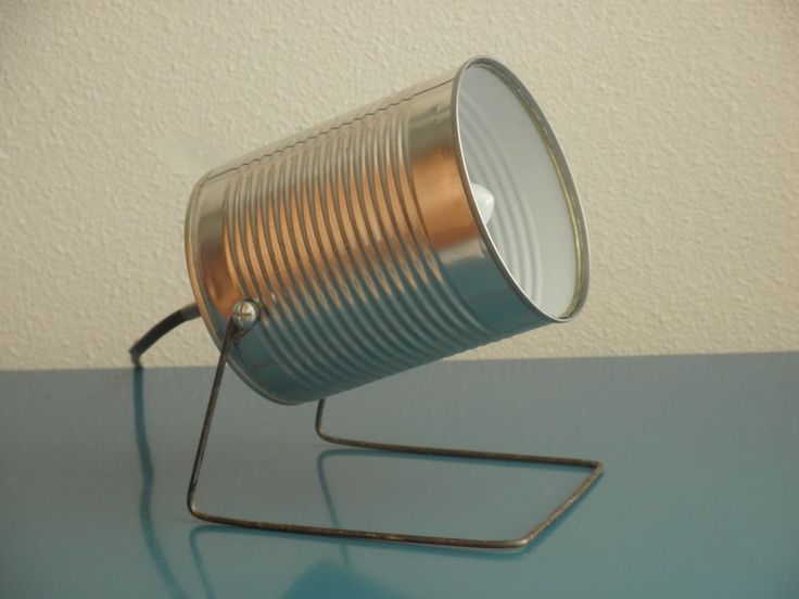 Lampe spot boite de conserve : Luminaires par mr-and-mrs-bin