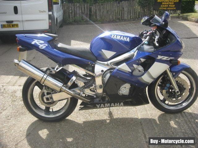 YAMAHA YZF 600 R6 MOTORCYCLE-2000 MODEL-ORIGINAL CONDITION-LOW MILES-12 MONTH MO #yamaha #yzfr6 #forsale #unitedkingdom