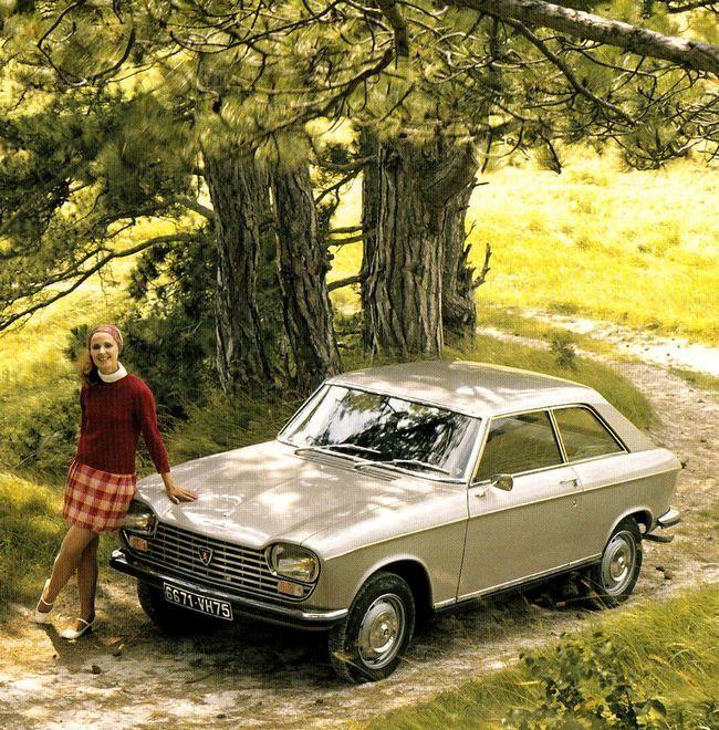 PEUGEOT 204 coupé                                                       …