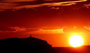 Výsledek obrázku pro italské moře západ slunce