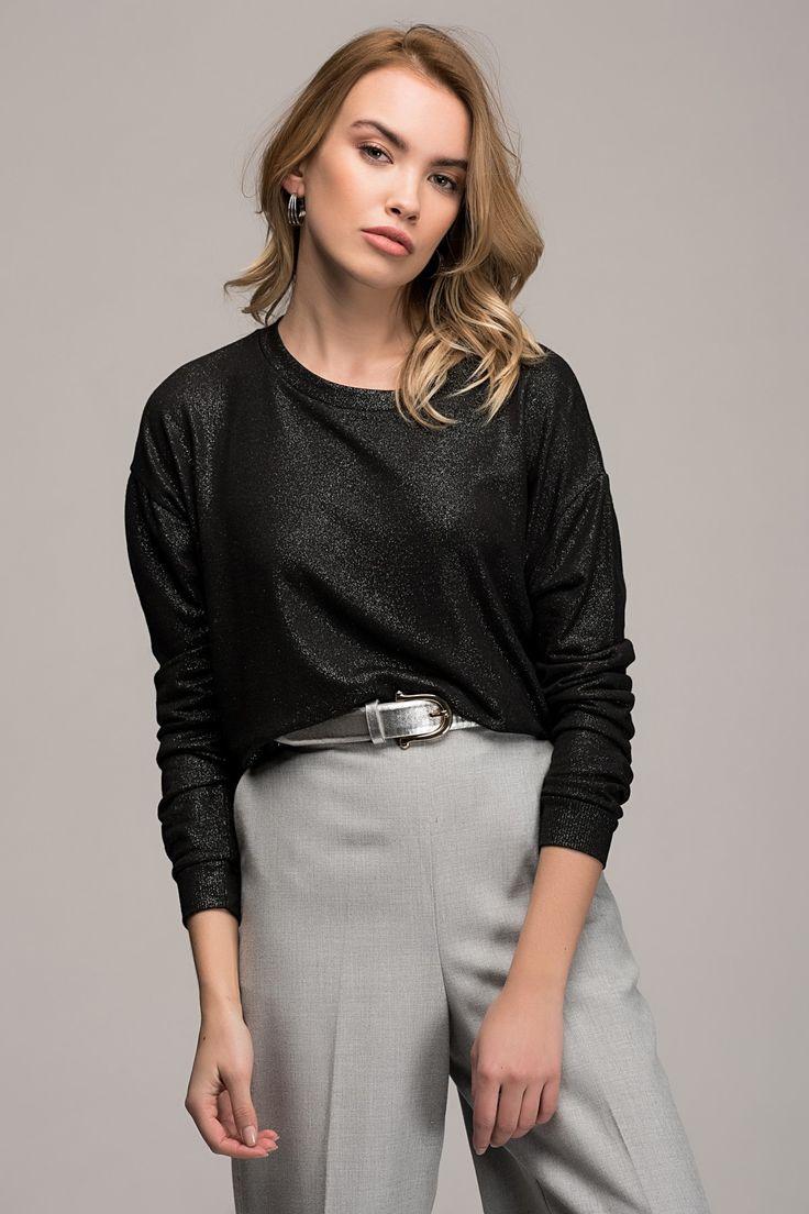 Kadın Siyah Bluz Y-London | Trendyol