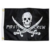 Pirate Crew Boat Flag