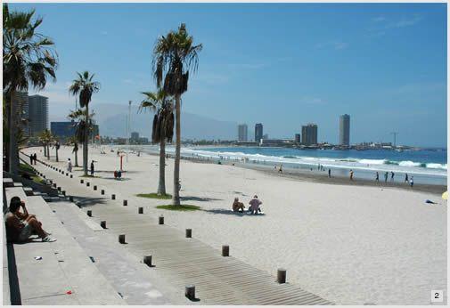 Iquique. La playa/The beach