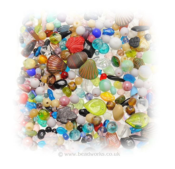 A wide variety of beads you can find in our shop: www.beadworks.co.uk