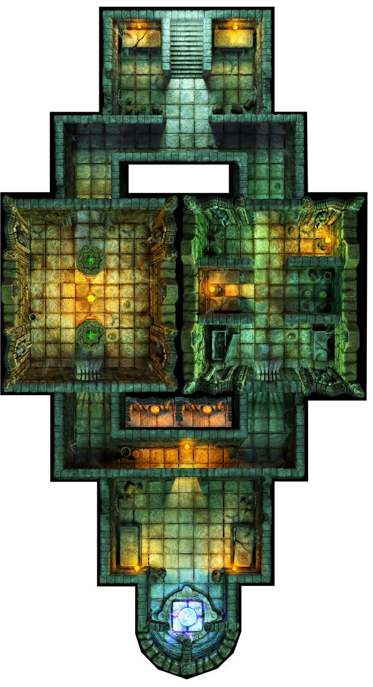 wow, that is one cool dungeon map!