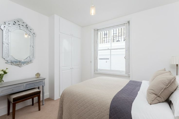 Bedroom basement flat London SW10 #cutlerandbond #basementflat #gardenflat #londonproperty