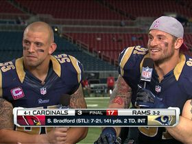 James Laurinaitis and Chris Long....my two favorite Rams