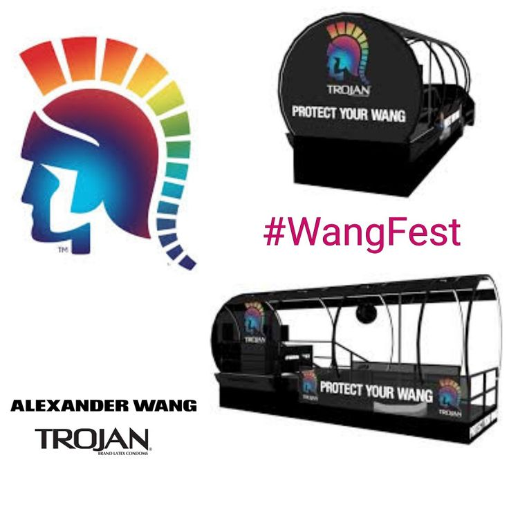 Alexander Wang partners with Trojan for New York City Pride March. #wangfest http://www.missfashionnews.com/safe-sex-wang-trojan/