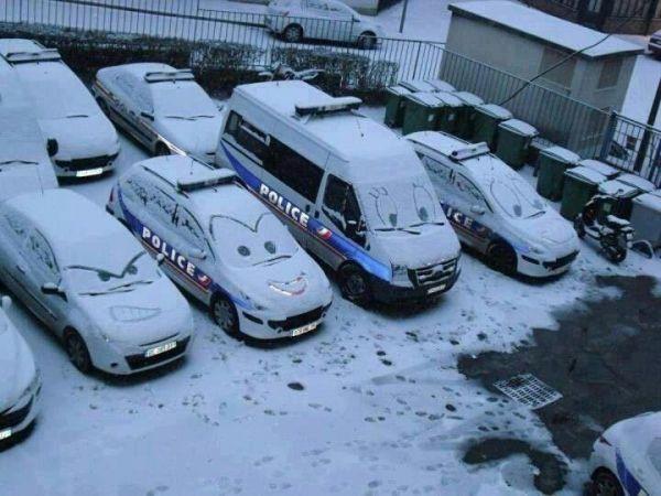 Quand les flics s'amusent