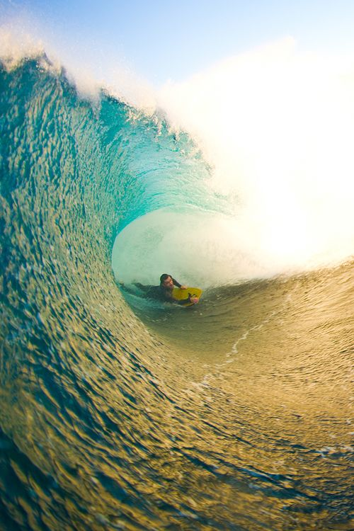 Belly barrels are fun too ;-)