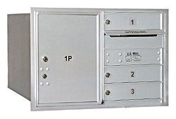 4C Horizontal Mailbox (Includes Master Commercial Lock) - 5 Door High Unit (20 Inches) - Double Column - 3 MB1 Doors / 1 PL5 - Aluminum - Rear Loading - Private Access by Salsbury Industries. $343.37. 4C Horizontal Mailbox (Includes Master Commercial Lock) - 5 Door High Unit (20 Inches) - Double Column - 3 MB1 Doors / 1 PL5 - Aluminum - Rear Loading - Private Access - Salsbury Industries - 820996411808. Save 14%!