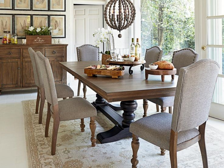 Looking To Flex Your Dining Room Space The Tanshire Extending Table Gives Guests Breathing
