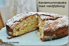 Mumma! Kardemummakaka med vaniljfyllning! | Bambi
