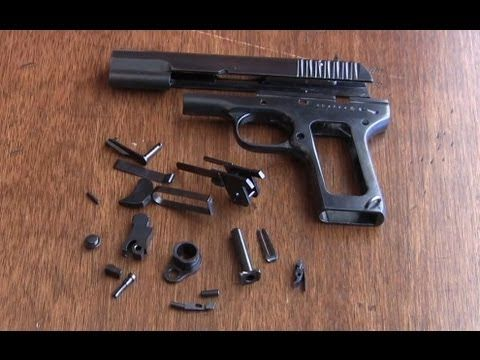 Tokarev Project - Part 3 - Small Parts Refinish - YouTube