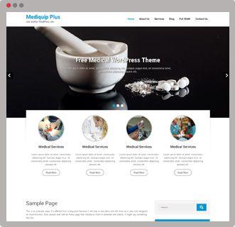 Get the free medical WordPress theme mediquip & strat building your medical website https://goo.gl/XPlkEw