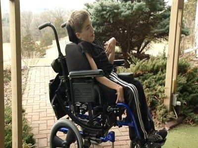 Kudos to Home Health United in Madison, Wisconsin for helping Drew #LiveWithoutLimits by providing him a new #wheelchair!  Drew Nachreiner, who is 16 and lives with cerebral palsy, lost his motorized wheelchair after being hit by a car March 27. WKOW 27: Madison, WI Breaking News, Weather and Sports