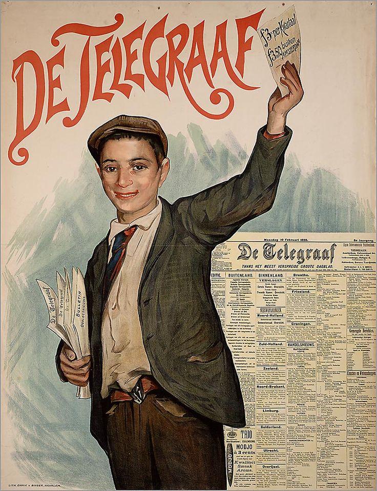 ♥Vendeur de journeaux - Telegraaf Media Group - Corporate Storytelling - Powered by DataID Nederland