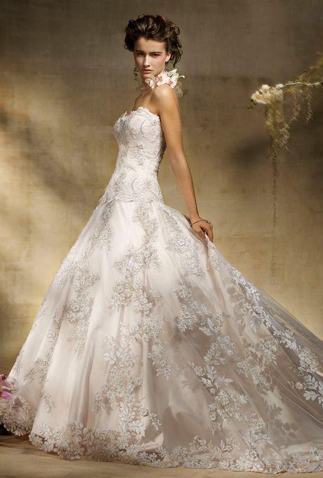 I LOVE, LOVE, LOVE this gown!! Amalia Carrara Wedding Dresses   Brides.com