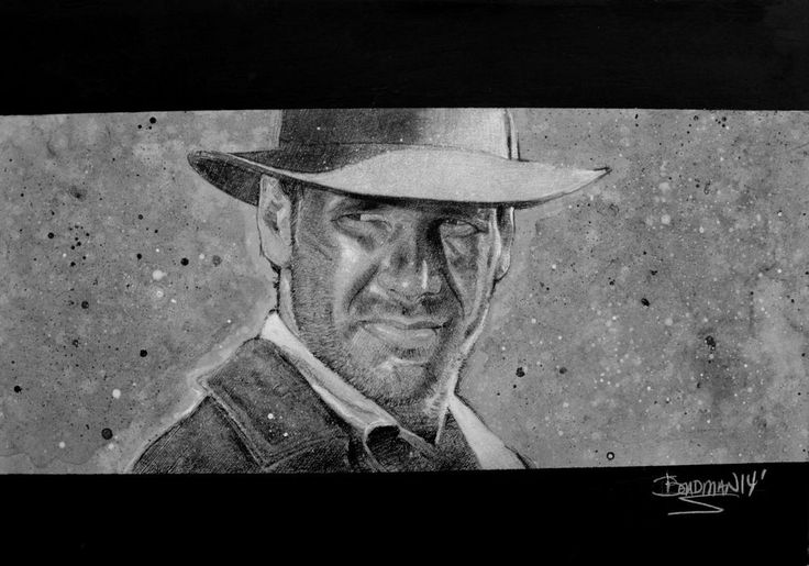 INDIANA JONES AND THE TEMPLE OF DOOM ORIGINAL ART BY DARREN BEADMAN #Realism