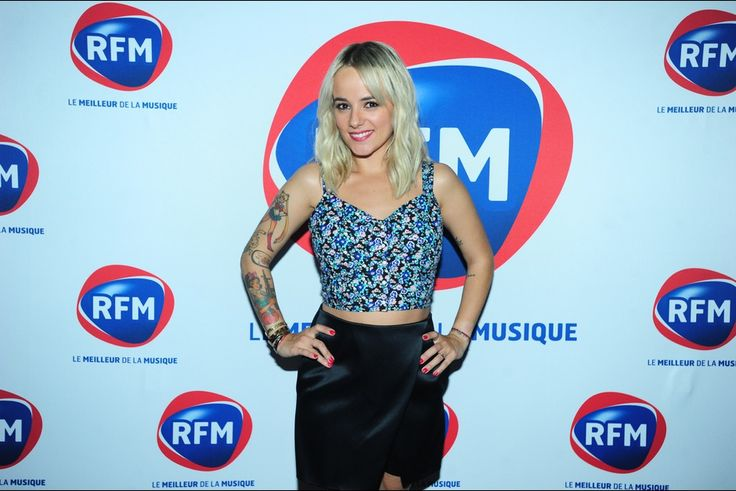 Alizée Jacotey @ RFM Summer Live #alizee #blonde