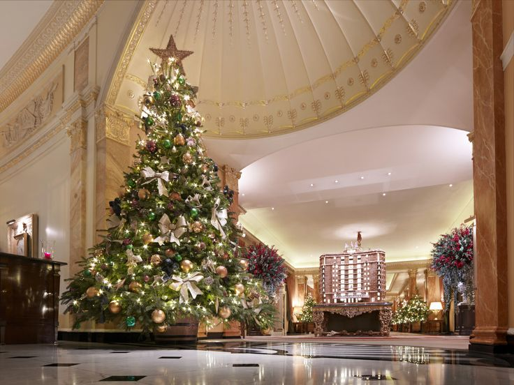Christmas display at The Dorchester