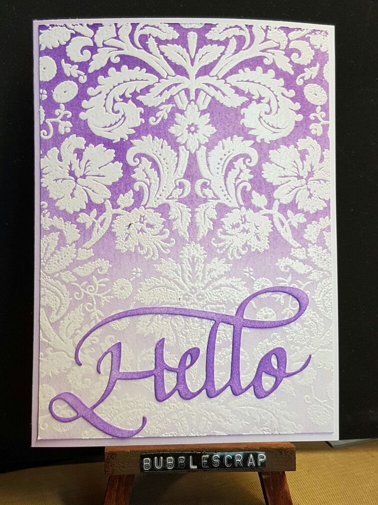 A card made inspired by a Jennifer McGuire tutorial on youtube. Quietfire die cuts, hero arts stamps and distress inks