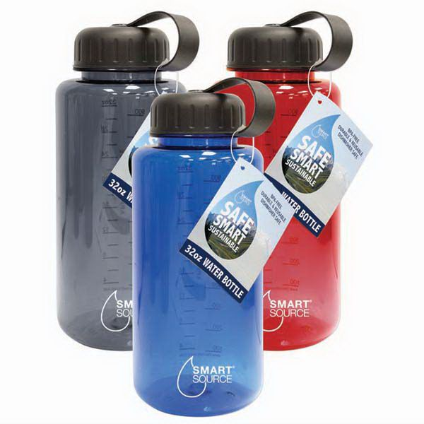 32oz/1000mL BPA-FREE EASTMAN TRITAN PLASTIC WATER BOTTLES