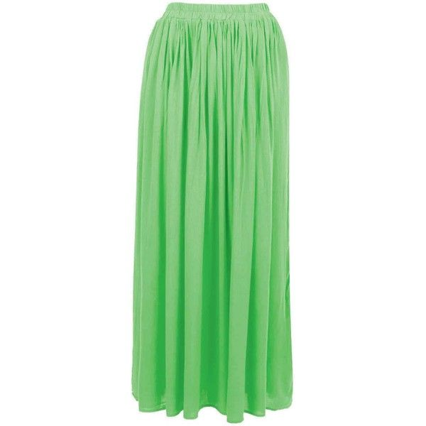 Lime Lace Insert Maxi Skirt ($24) ❤ liked on Polyvore featuring skirts, bottoms, maxi skirts, lime green skirt, green maxi skirt, floor length skirt and evening maxi skirt