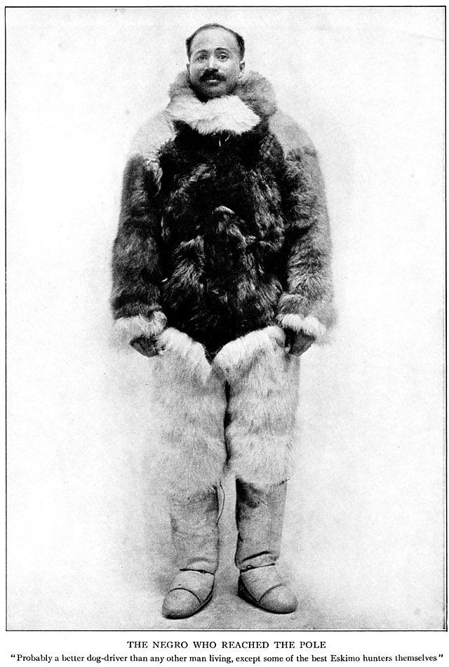 Matthew Henson, Robert E. Peary, North Pole