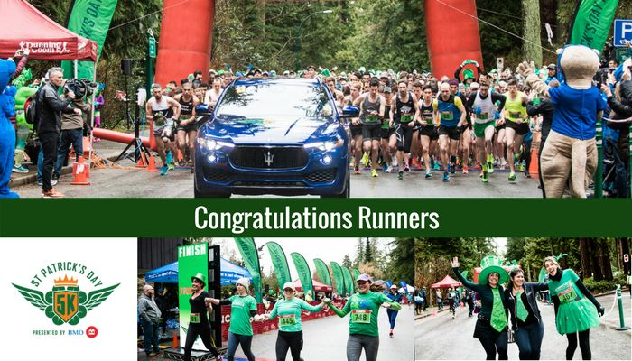 Perfect Conditions for Vancouver's Best Running Party! Proceeds went to Diabetes Canada,and CocosPure coconut water was there too.