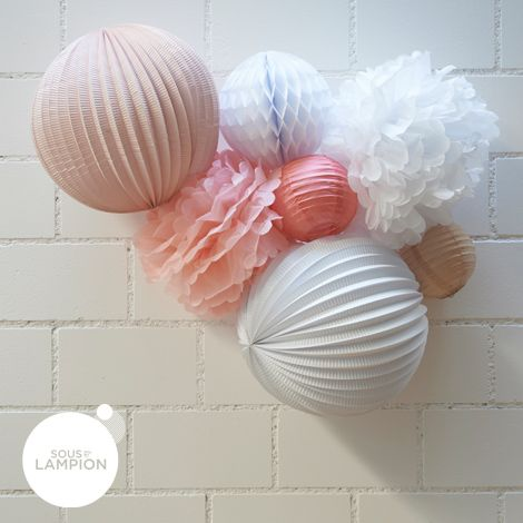 Kit de lampions - EMMA - Sous Le Lampion - Lantern and Lampion