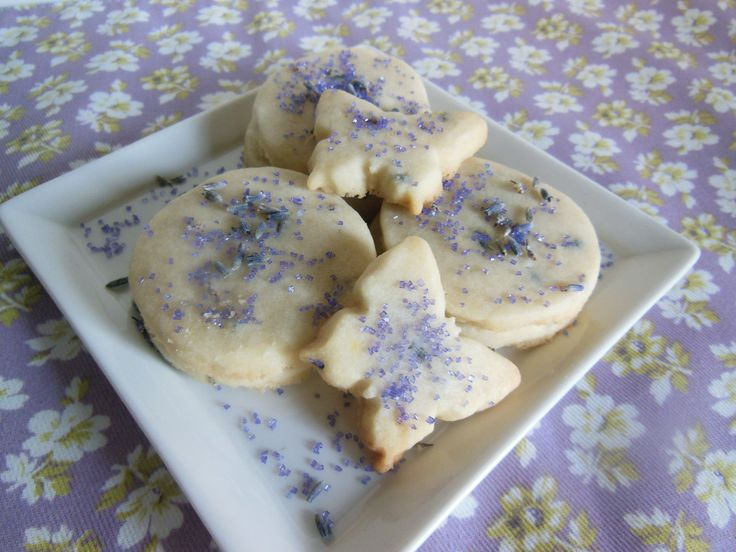 Lavender & Lemon Zest Shortbread Cookies recipe: www.facebook.com ...