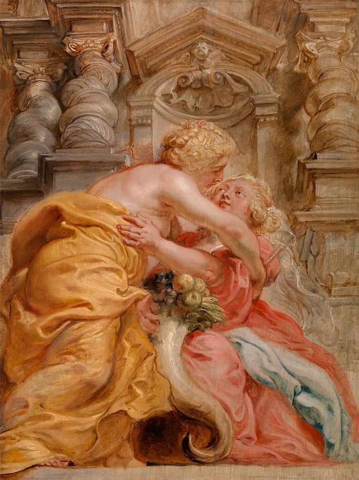 """Peace Embracing Plenty,"" by Peter Paul Rubens (1633-1634)"