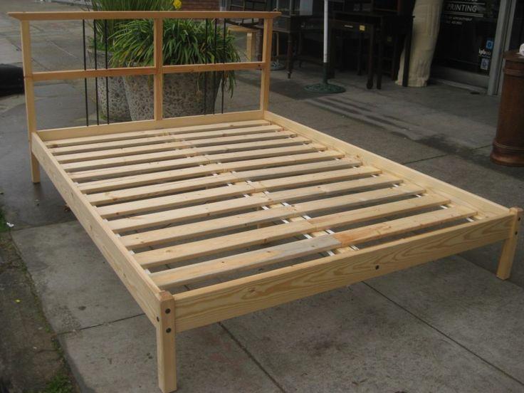Platform Bed Frames Plans best 25+ queen platform bed frame ideas on pinterest | diy bed